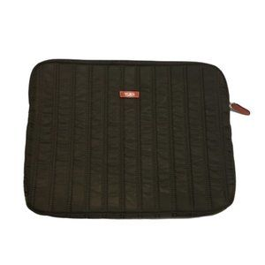 Tumi Quilted Padded Zippered Laptop Sleeve